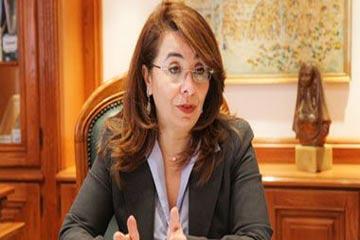 غادة والي، وزير التضامن الاجتماعي ورئيس مجلس أمناء المؤسسة القومية لتنمية الأسرة