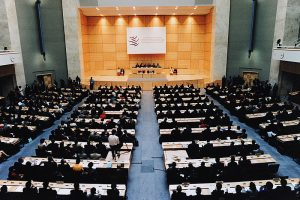 the-world-trade-organization-ministerial-conference-of-1998-in-the-palace-of-nations-geneva-switzerland