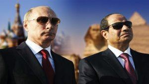 الرئيس عبد الفتاح السيسي والرئيس بوتين